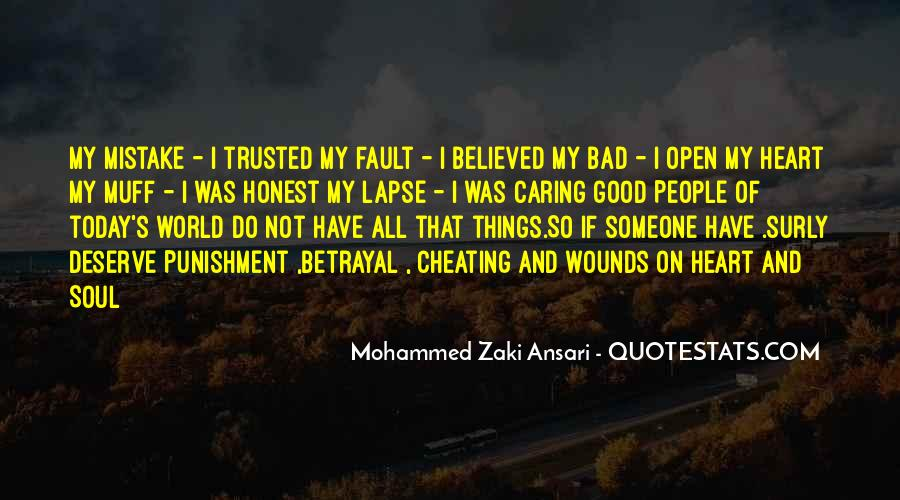 Quotes About Open Wounds #1675594