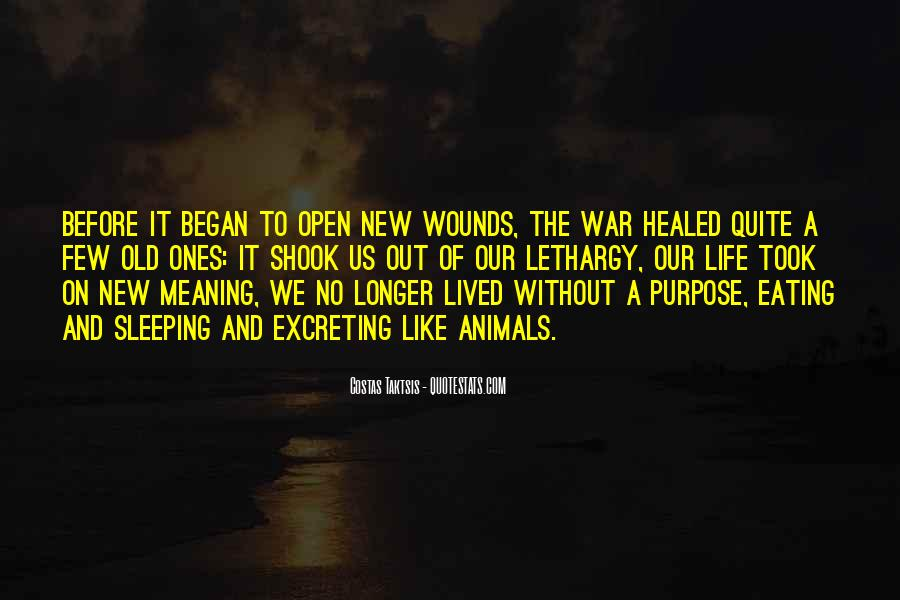 Quotes About Open Wounds #258842