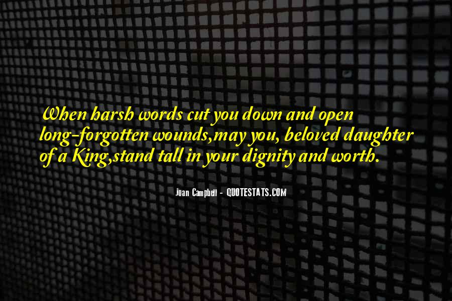 Quotes About Open Wounds #88276