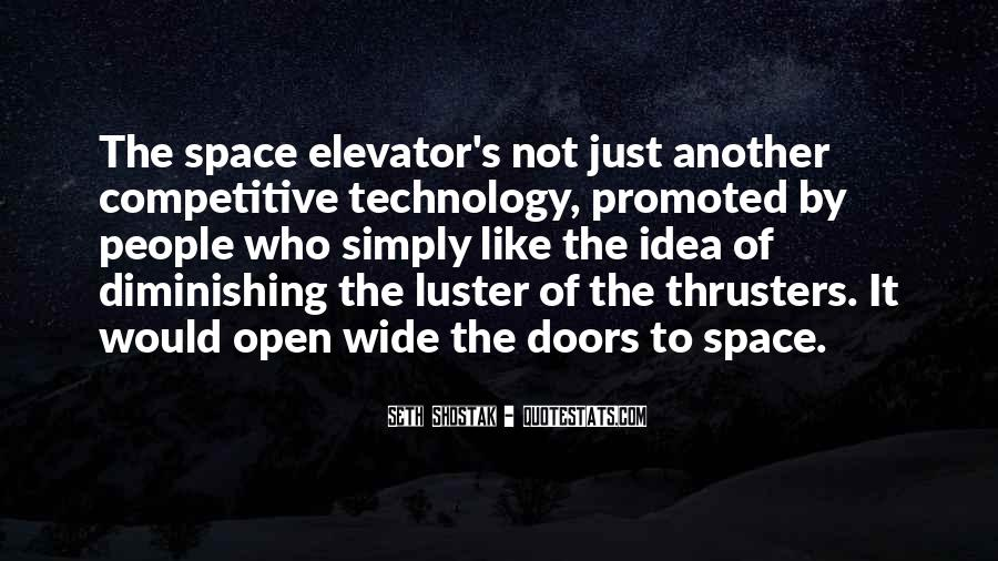 Quotes About Open Space #1041506