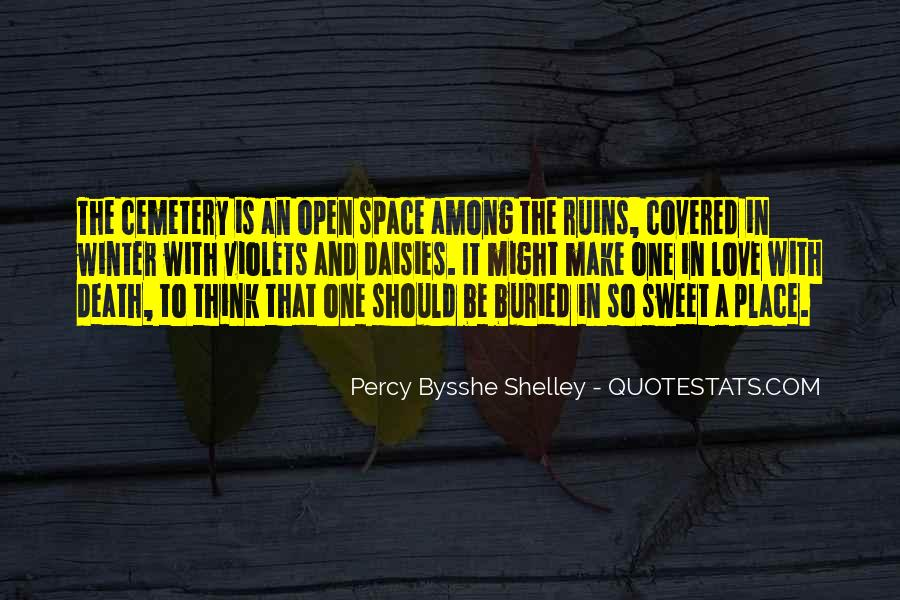 Quotes About Open Space #219935