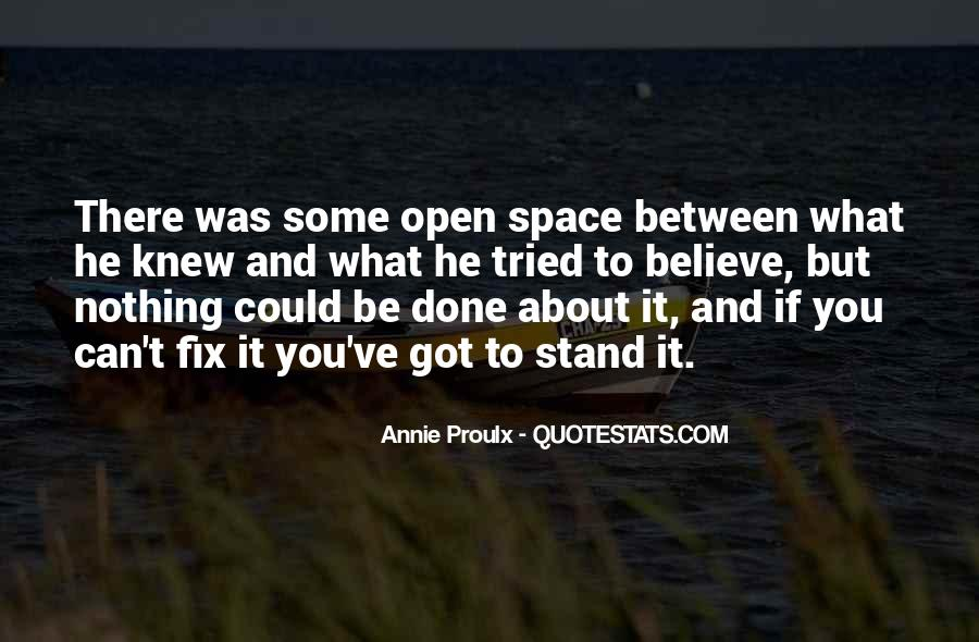Quotes About Open Space #272942