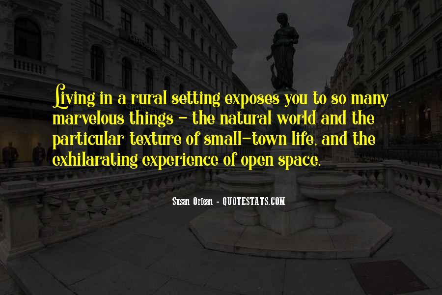 Quotes About Open Space #288981