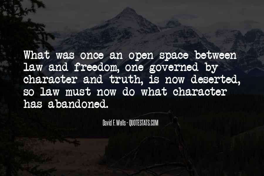 Quotes About Open Space #336198