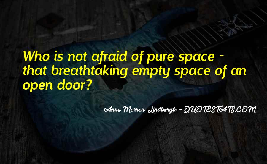 Quotes About Open Space #433777