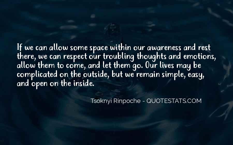 Quotes About Open Space #477722