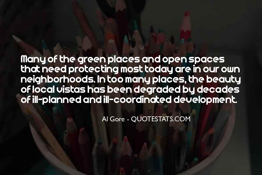 Quotes About Open Space #669252