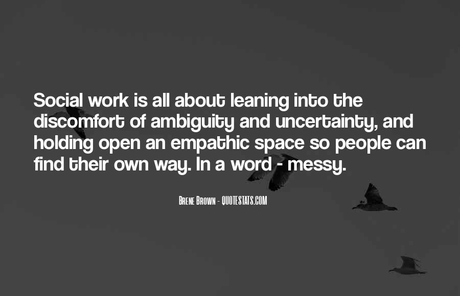 Quotes About Open Space #723594