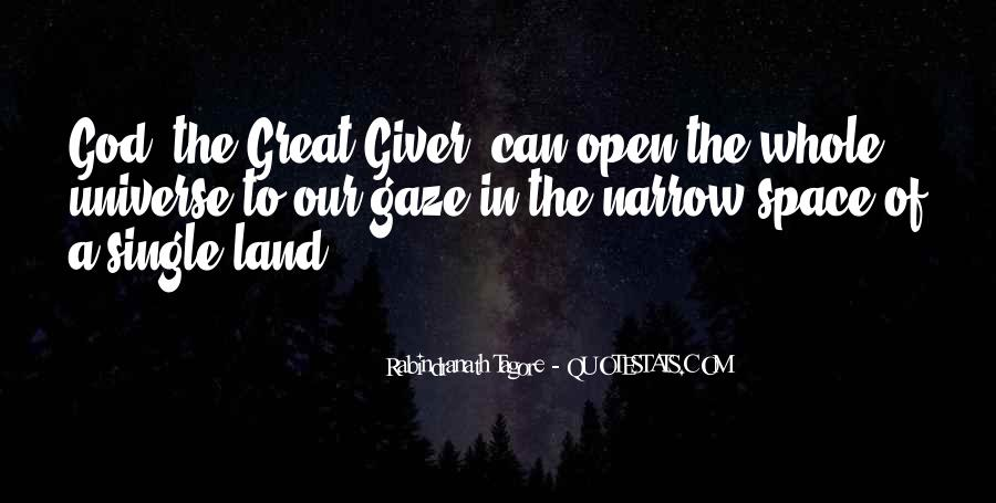 Quotes About Open Space #748034