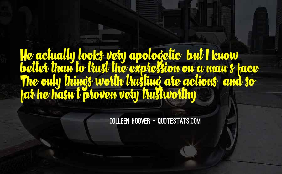 Quotes About Not Trusting Him #98034