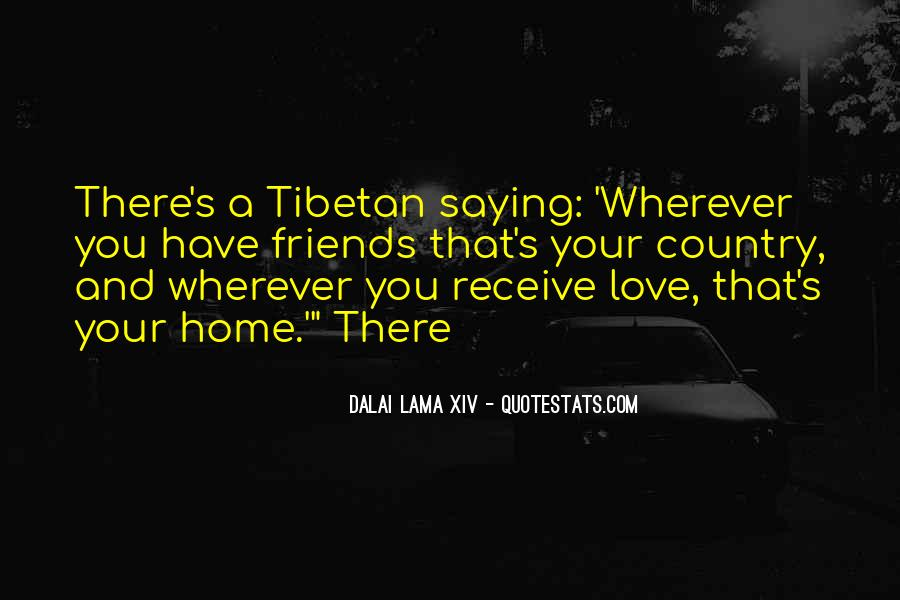 Quotes About Tibetan Love #491210