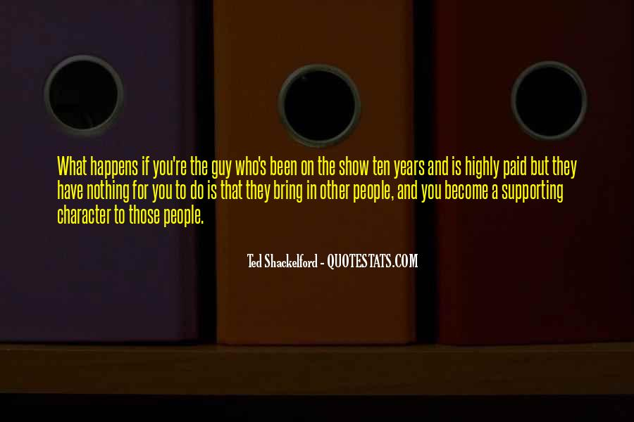 Quotes About Supporting Each Other #19298