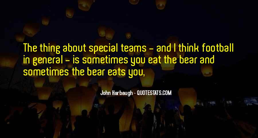 Quotes About Special Teams Football #328849