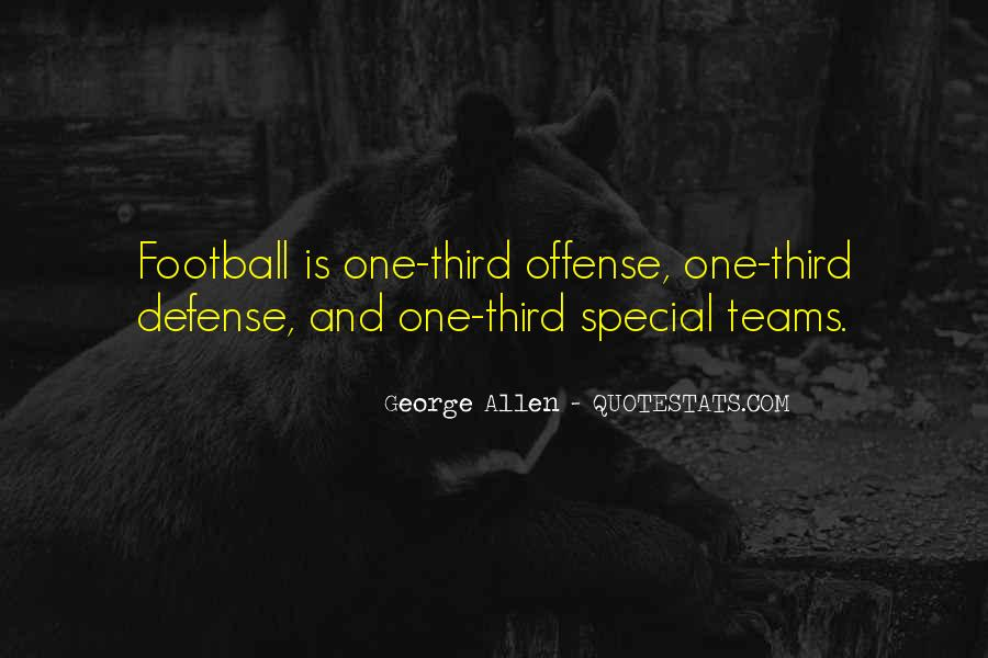 Quotes About Special Teams Football #704961