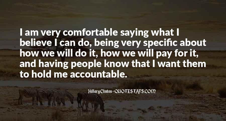 Quotes About Being Accountable For Yourself #174874