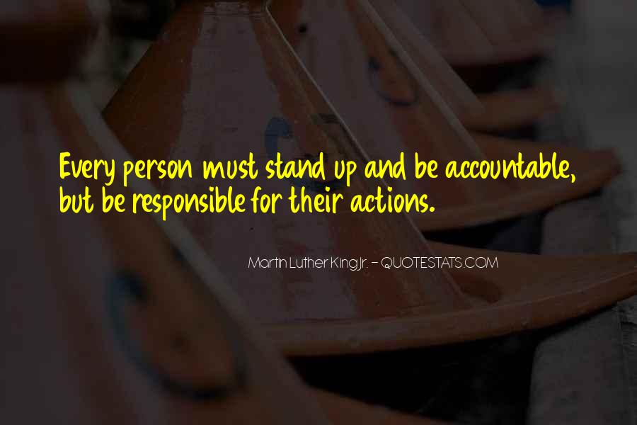 Quotes About Being Accountable For Yourself #250953