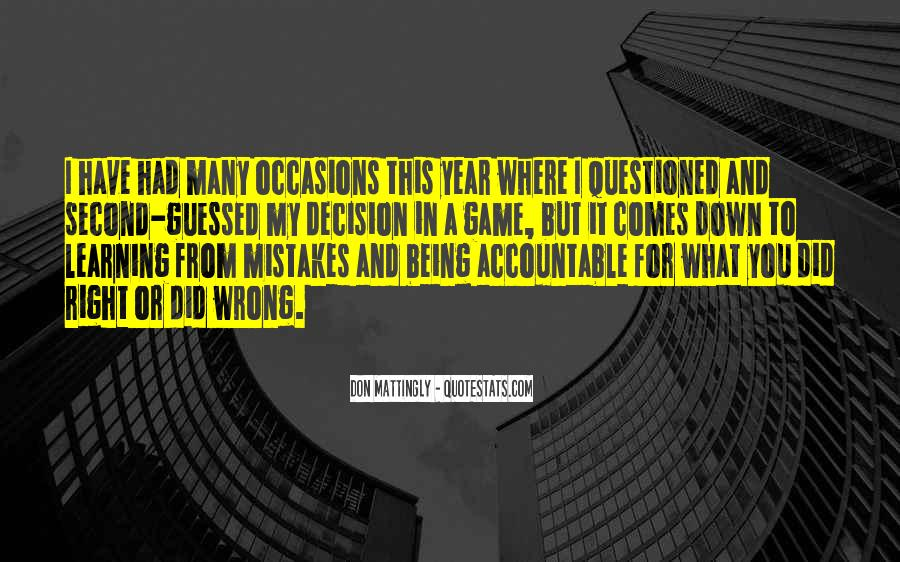 Quotes About Being Accountable For Yourself #746965