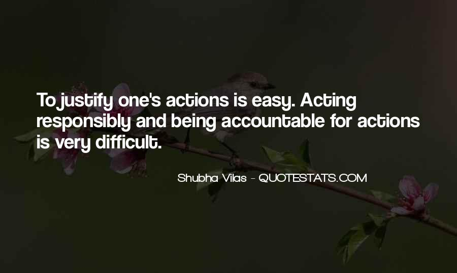 Quotes About Being Accountable For Yourself #827674