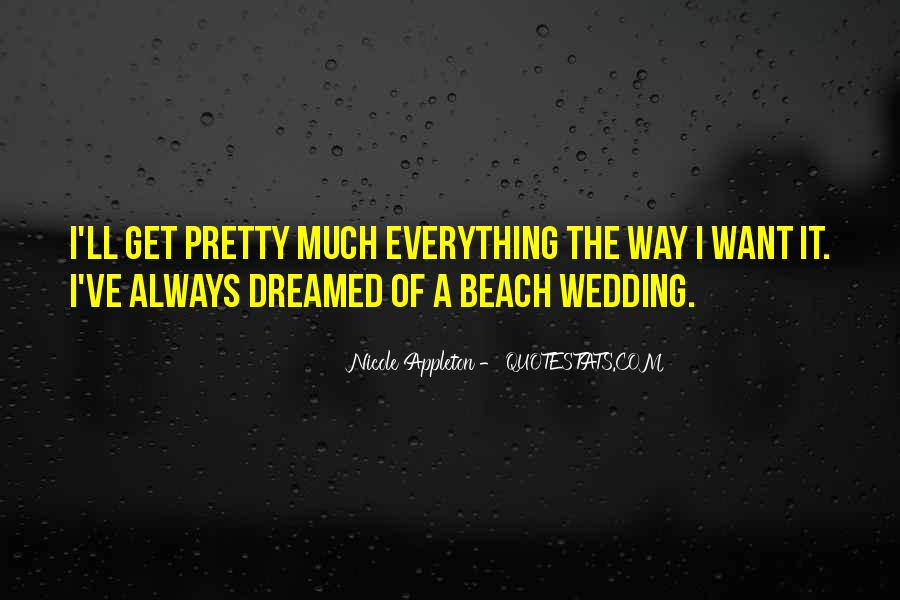 Quotes For Beach Wedding #1810253