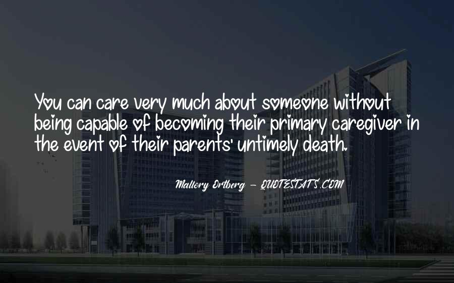 Quotes For Caregivers Of Parents #963935