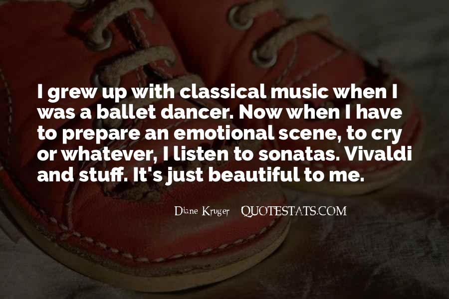 Quotes For Classical Dancer #117786