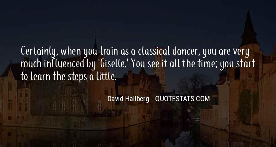 Quotes For Classical Dancer #1654534