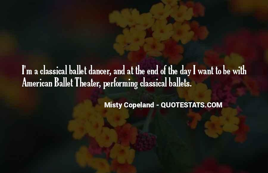 Quotes For Classical Dancer #561690