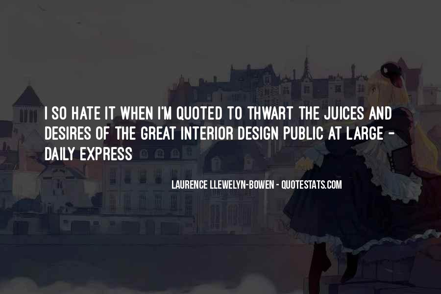 Quotes About Thwart #773843