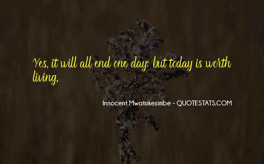 Quotes For Day End #21535