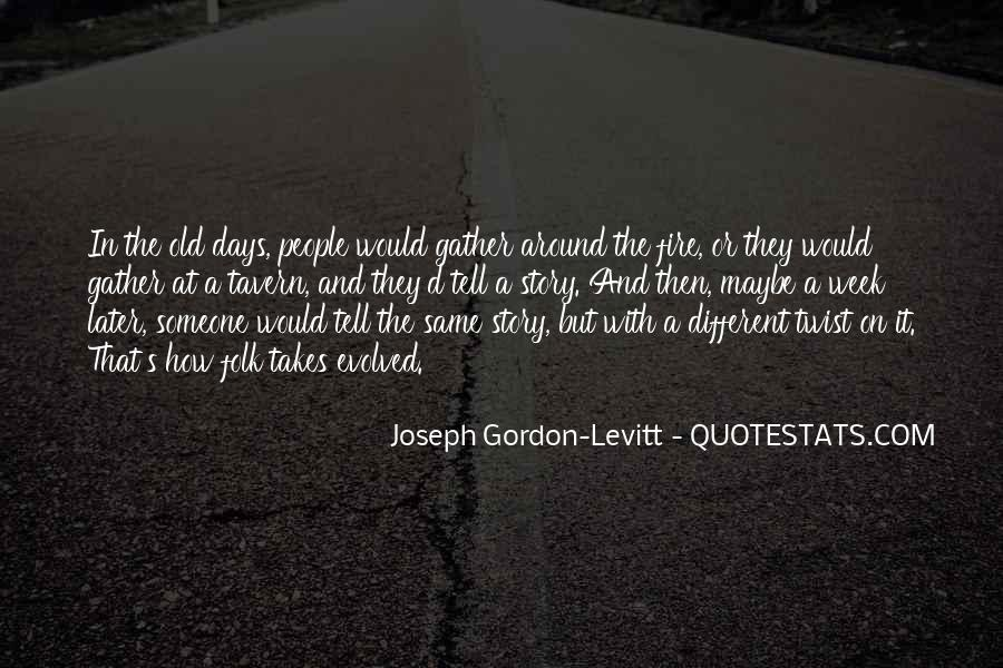 Quotes For Different Days Of The Week #1584048