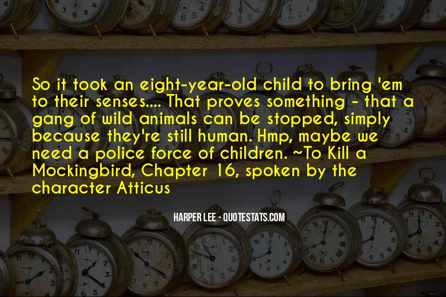 Quotes For Each Character In To Kill A Mockingbird #1234494