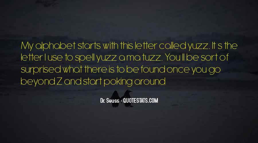 Quotes For Each Letter Of The Alphabet #1617148
