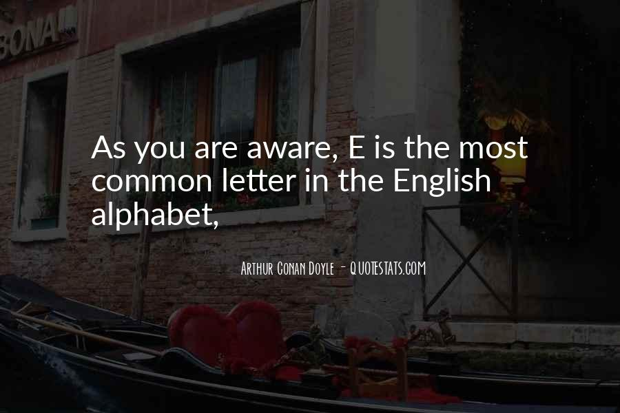 Quotes For Each Letter Of The Alphabet #434231