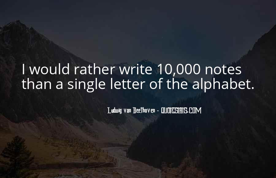 Quotes For Each Letter Of The Alphabet #754541