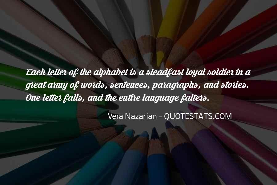 Quotes For Each Letter Of The Alphabet #809733