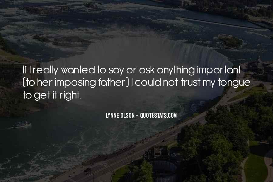 Quotes About Olson #187246