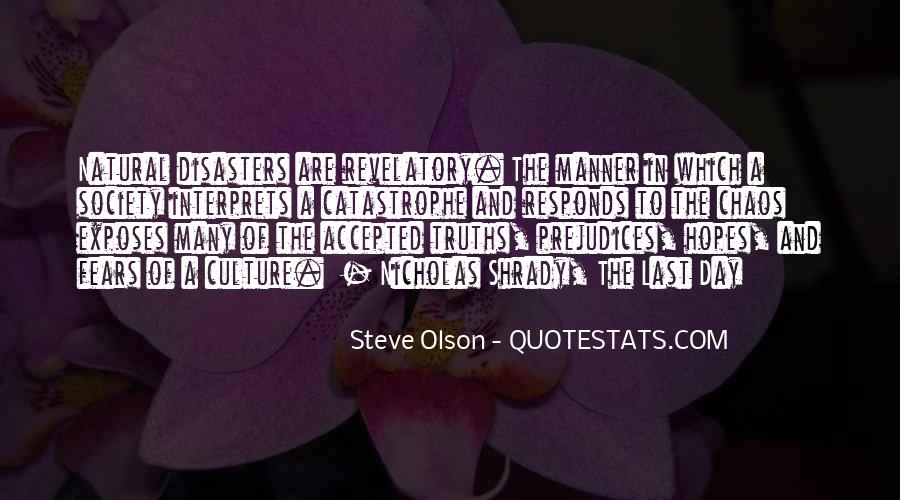 Quotes About Olson #350234