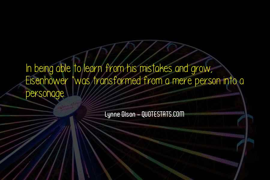 Quotes About Olson #387275