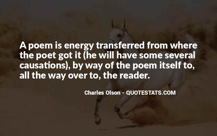 Quotes About Olson #64612