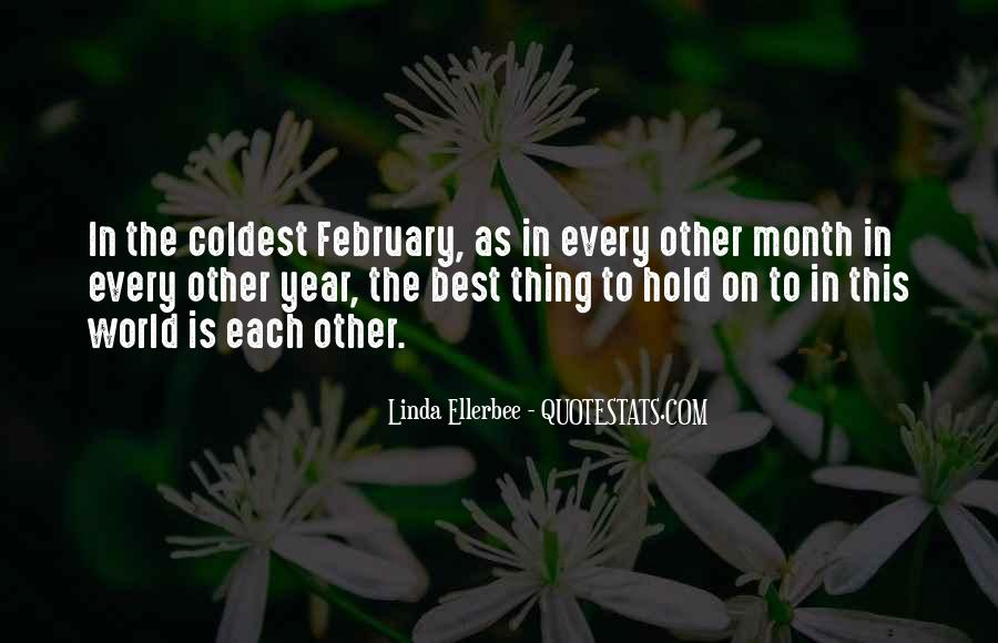 Quotes For Every Month Of The Year #1261921