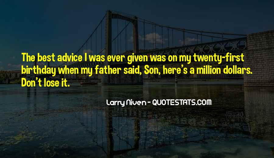 Quotes For Father On His Birthday #1225586