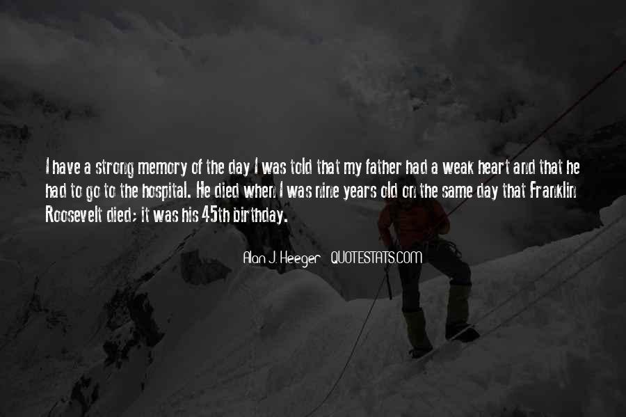 Quotes For Father On His Birthday #450663