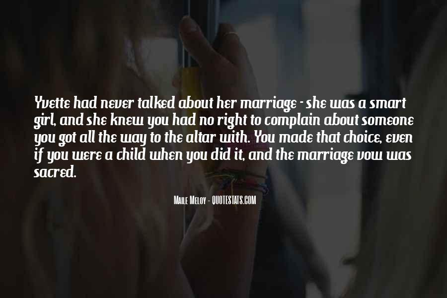 Quotes For Girl Marriage #29401