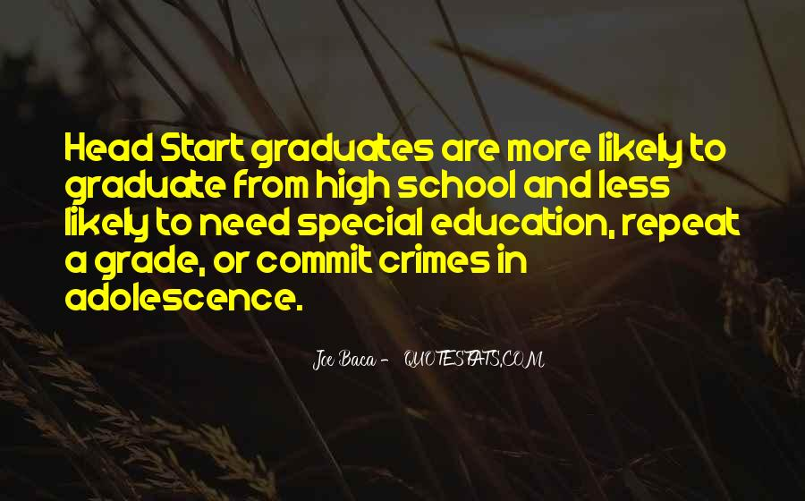 Quotes For Graduates From High School #1642392