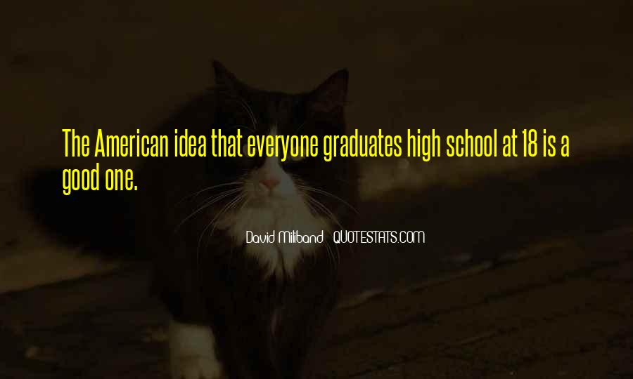 Quotes For Graduates From High School #260840