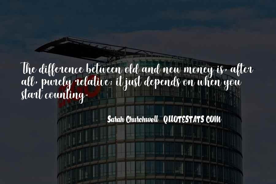 Quotes About Old Money Vs New Money #1714268