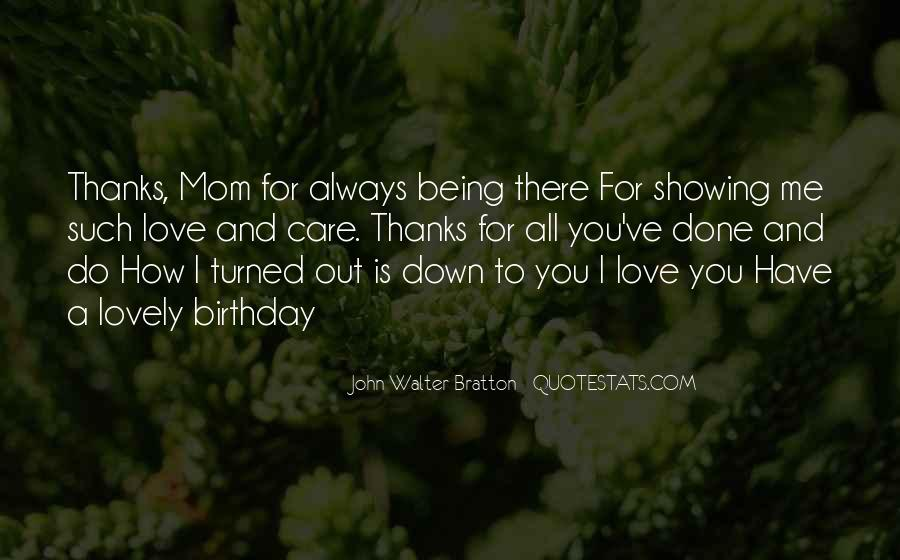 Quotes For Mom On Her Birthday #1866695