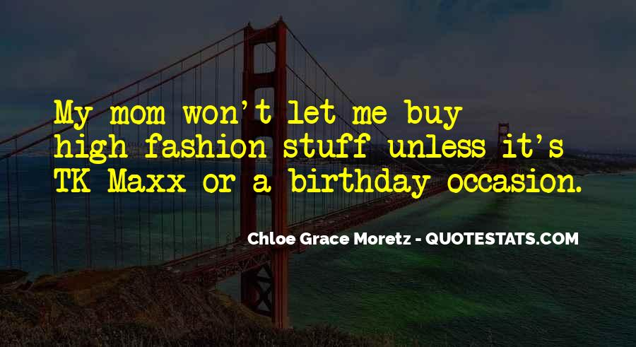 Quotes For Mom On Her Birthday #226876