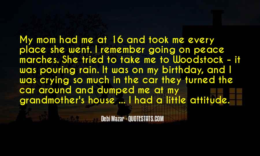 Quotes For Mom On Her Birthday #323728