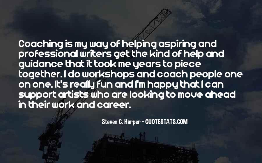 Quotes For Moving On In Career #777332
